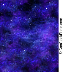 星が多い空, 背景, スペース
