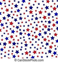 星が多い, バックグラウンド。, ベクトル, イラスト, ∥ために∥, あなたの, design.