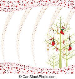 星が多い, 壁紙, クリスマス