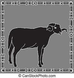 星占い, 牡羊座, 印