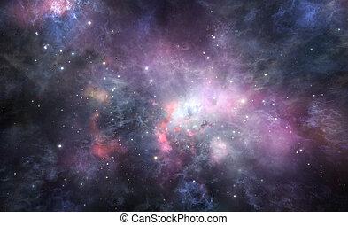 星雲, 背景