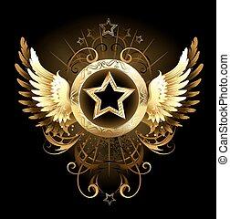 星, ∥で∥, 金, 翼