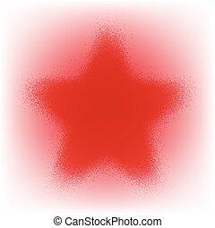 星, グランジ, 赤