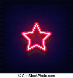 星, ネオン