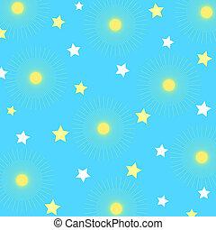 星, 圖案
