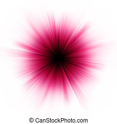 星, 爆發, 紫色, wnite., 被隔离, eps, 8