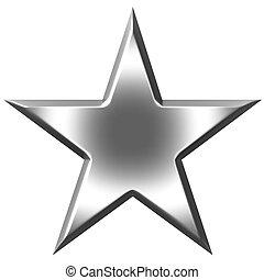 星, 銀, 3d