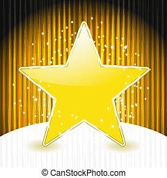 星, 10, 抽象的, eps, ストライプ, ベクトル, 背景, グランジ, クリスマス