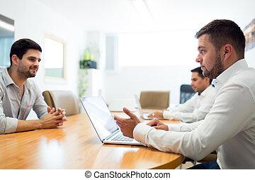 映像, 現代, 労働者のオフィス, businesspeople