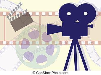 映画企業, 原料