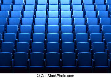 映画館, 空, 講堂