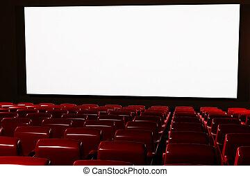 映画館, 講堂, 内部