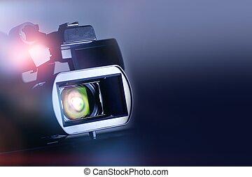 映画, ビデオ, backgrund