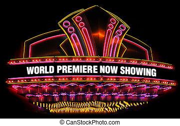 映画 劇場, marquee