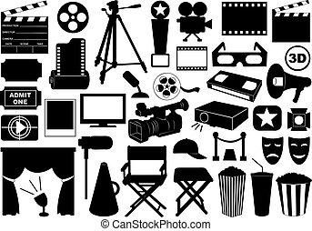 映画, 要素, 関係した
