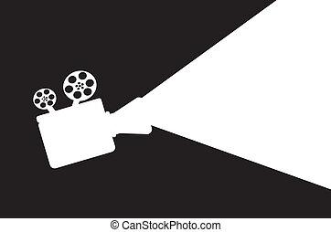 映画, proyector
