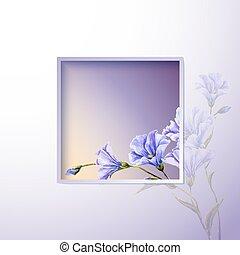 春の花, テンプレート, 招待