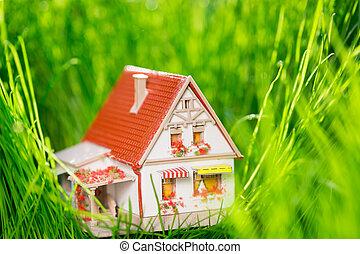 春天, 房子