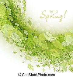 春天, 摘要, 背景