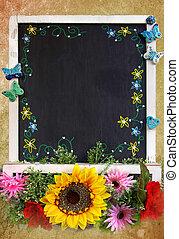 春天, 黑板