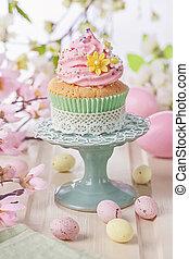 春天,  Cupcake