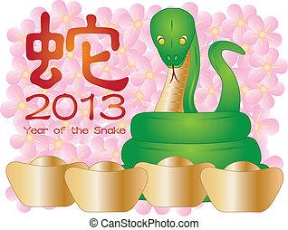 春節, ......的, the, 蛇