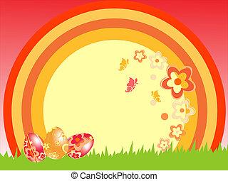春, イースター, -, 時間