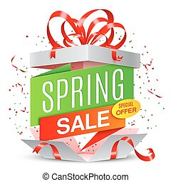 春, セール, 発表