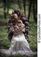 春, メロディー, 花