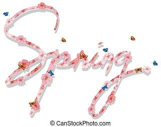 春, 手紙, テキスト