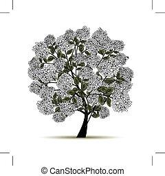 春, 木, ∥で∥, 花, ∥ために∥, あなたの, デザイン