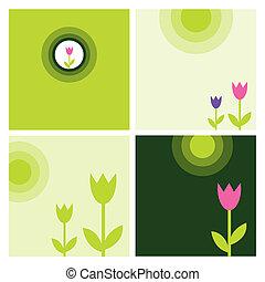 春, 要素, デザイン