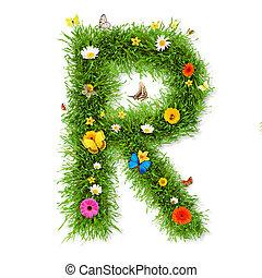 """春, """"r"""", 手紙"""