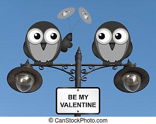 是我的valentine