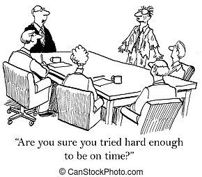 是, 你, 当然, 你, 尝试, 努力, 足够