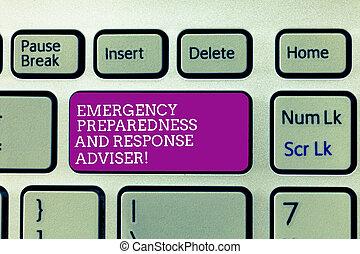 是, 緊急事件, keypad, 緊急事件, 相片, 建立, 反應, 寫, 事務, intention, 准備, 電腦, 正文, 手, 鍵盤, 概念性, adviser., 消息, 準備, 顯示, idea.