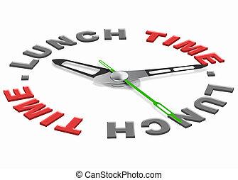 昼食の 時間