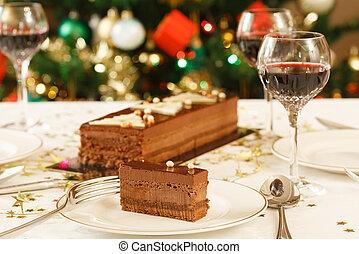 昼食, クリスマス, テーブル