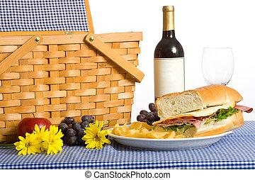 昼食, ピクニック
