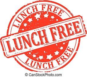 昼食, 無料で