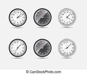 時區, 世界, 矢量, 插圖