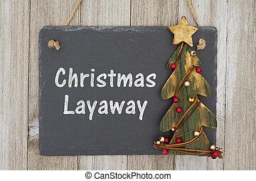 時裝, 老, 聖誕節, 消息, layaway