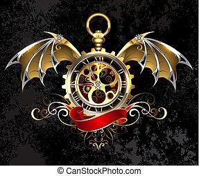 時計, ∥で∥, ドラゴン, 翼