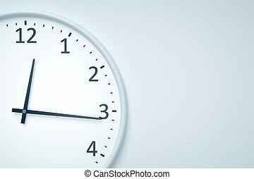 時計, ∥において∥, 壁