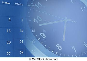 時計, カレンダー
