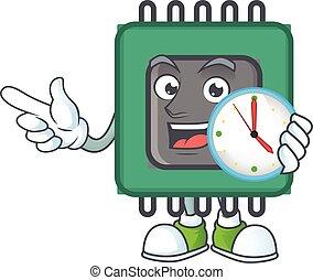 時計, 特徴, スタイル, ram, 漫画