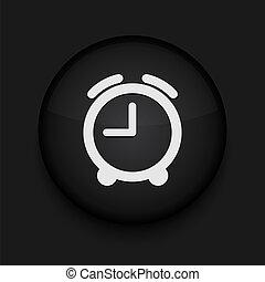 時計, 編集, eps10., ベクトル, 容易である, icon.