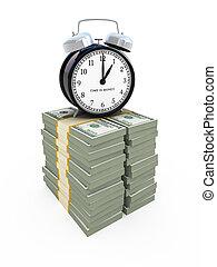 時間, お金, 概念