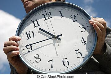 時間, ∥ために∥