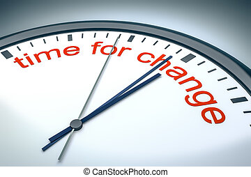 時間, ∥ために∥, 変化しなさい